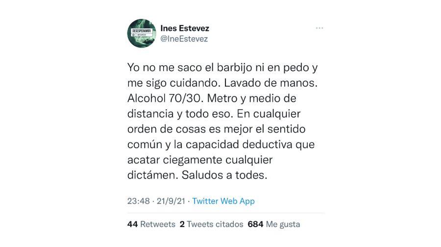Ines Estevez 0922