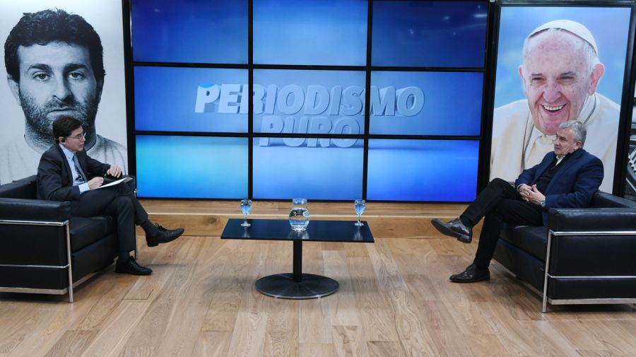 REPORTAJE DE FONTEVECCHIA A GERARDO MORALES 20210922