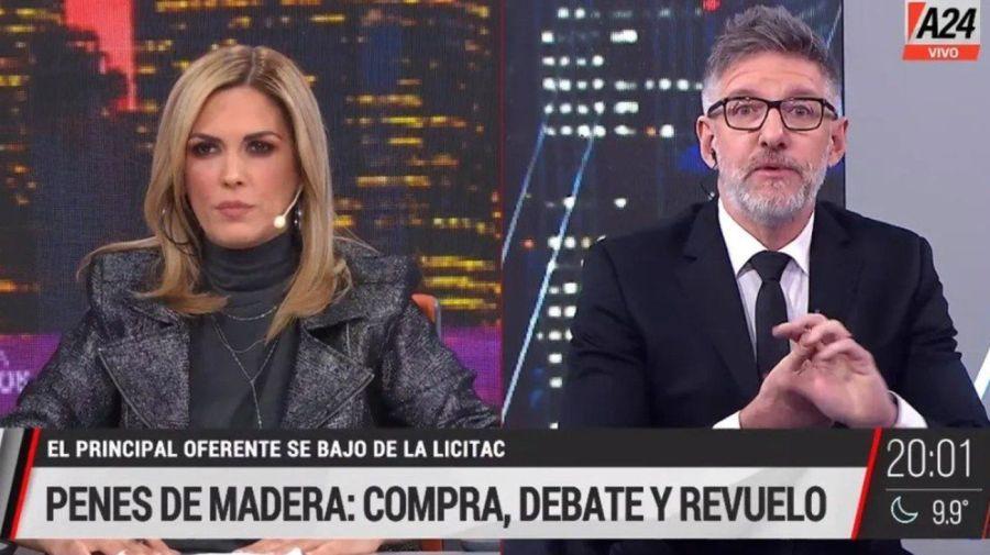 Viviana Canosa y Luis Novaresio