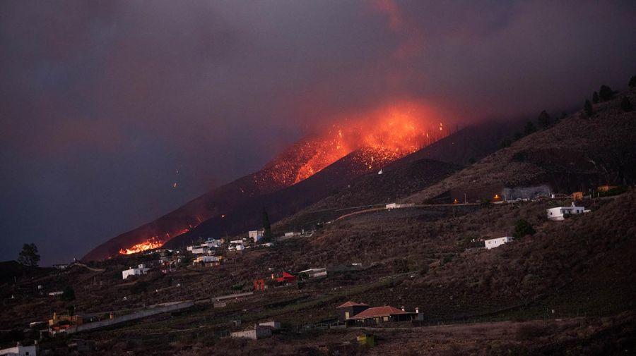 erupción del volcán Cumbre Vieja 20210923