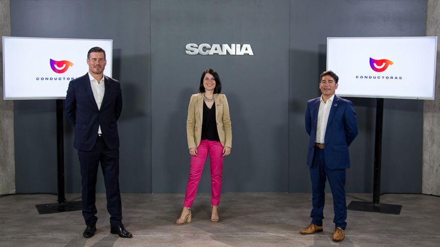 Scania lanzó su programa de formación profesional para mujeres