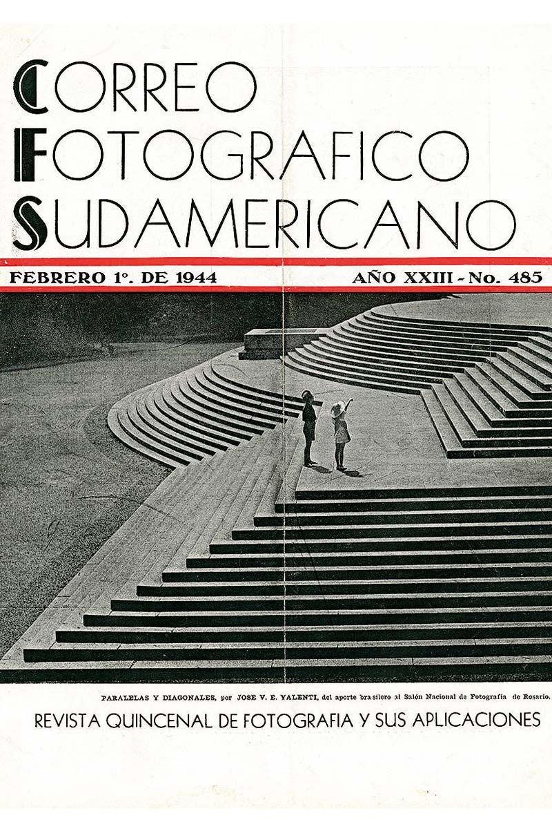 Tapa Correo Fotográfico Sudamericano