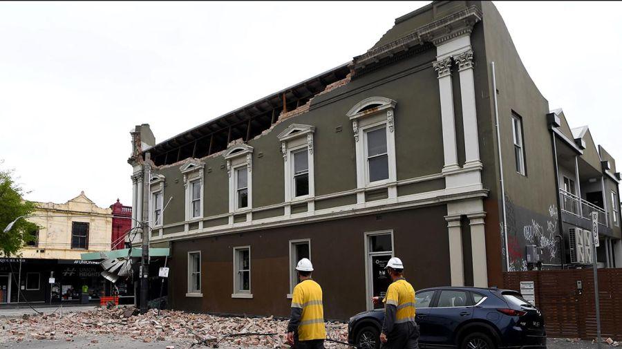 terremoto de Melbourne 20210923