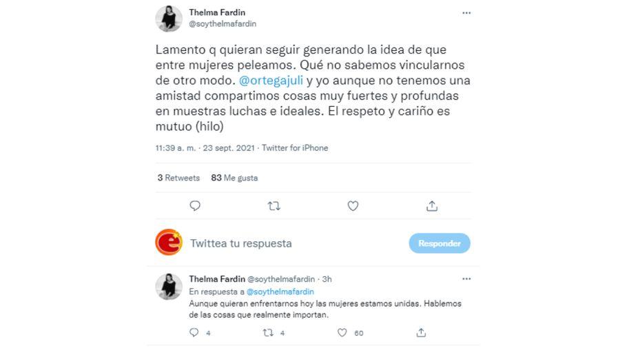 tweet thelma