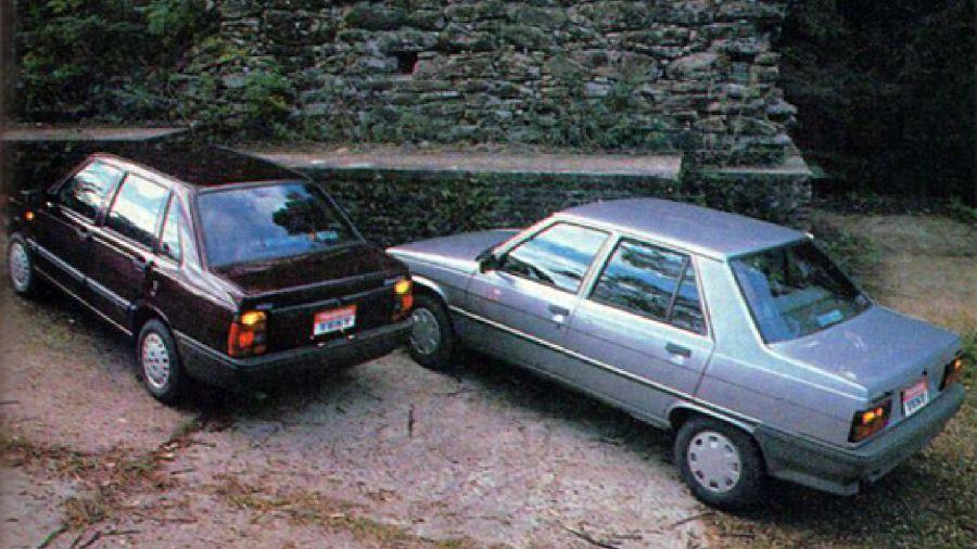 Renault 9 GTL vs. Fiat Duna SCL