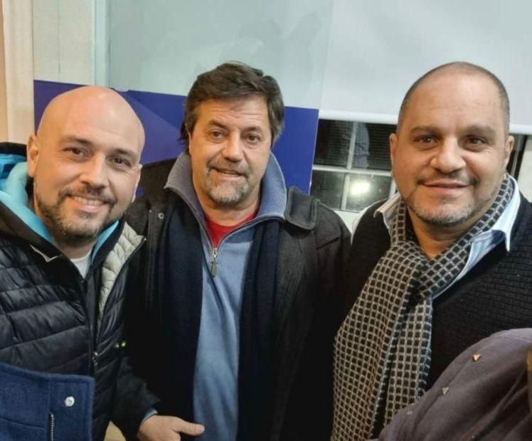 Elías, Lombardi y Cositorto.
