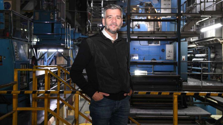 Juan Zabaleta, en la entrevista con Jorge Fontevecchia.