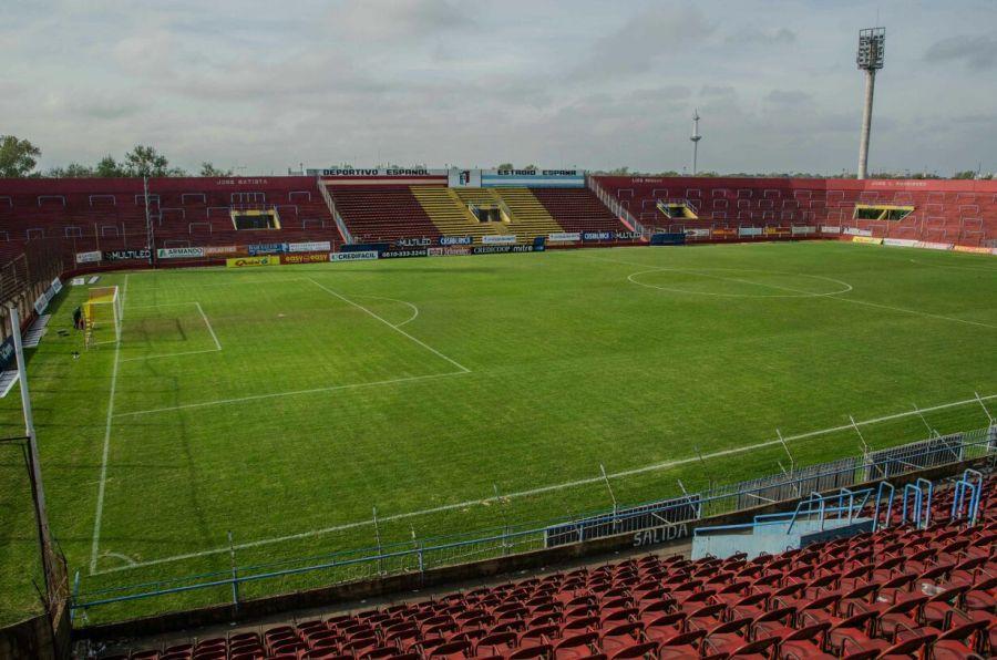 La cancha de Deportivo Español.