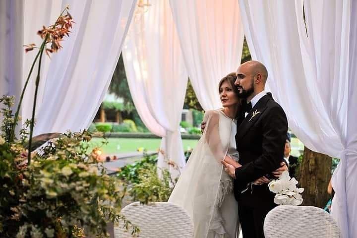 Todos los detalles del la boda de Abel Pintos y Mora Calabrese