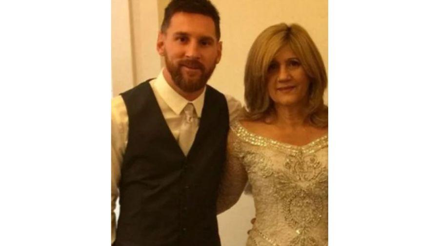 Lionel Messi Y Celia Cuccittini