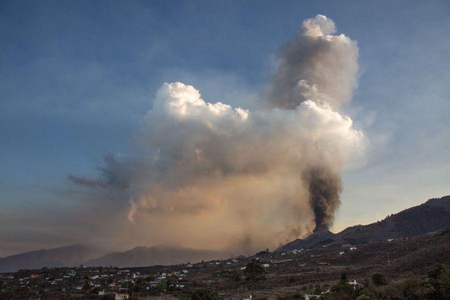 volcán de Cumbre Vieja canarias