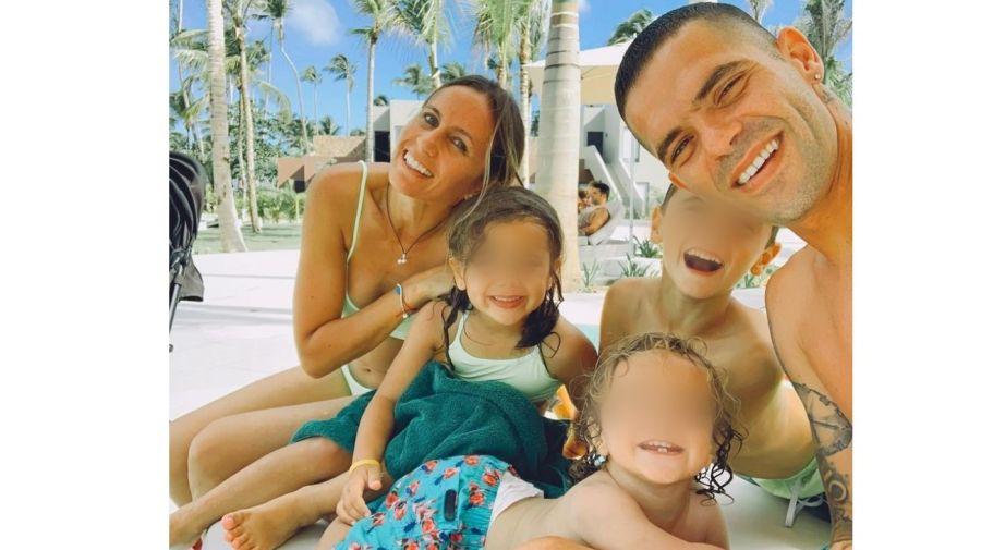 Gisela Dulko, Fernando Gago y sus hijos