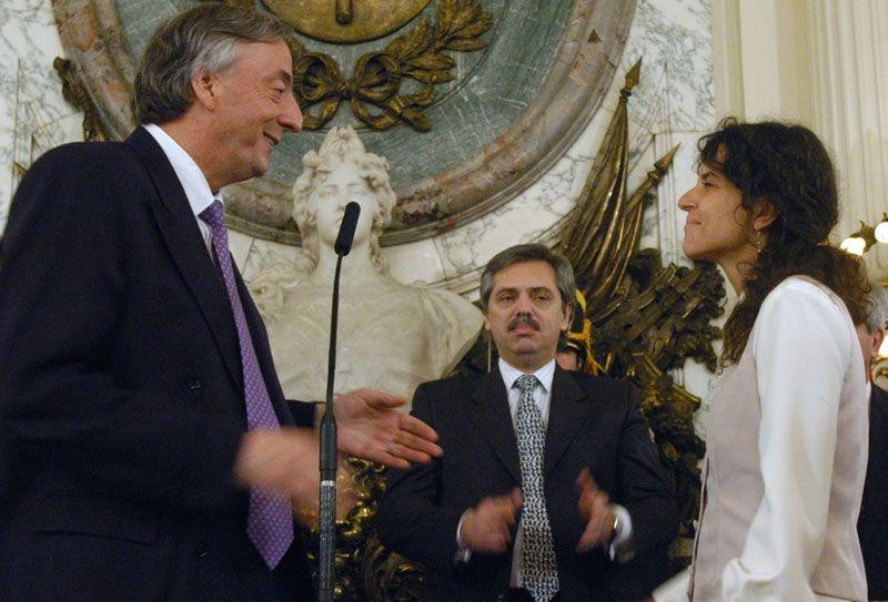 Picolotti asumió como secretaria de Ambiente con Néstor Kirchner