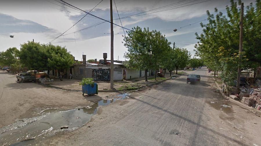 PGhandi al 5.900, del barrio Ludueña, ubicado en la zona norte de Rosario