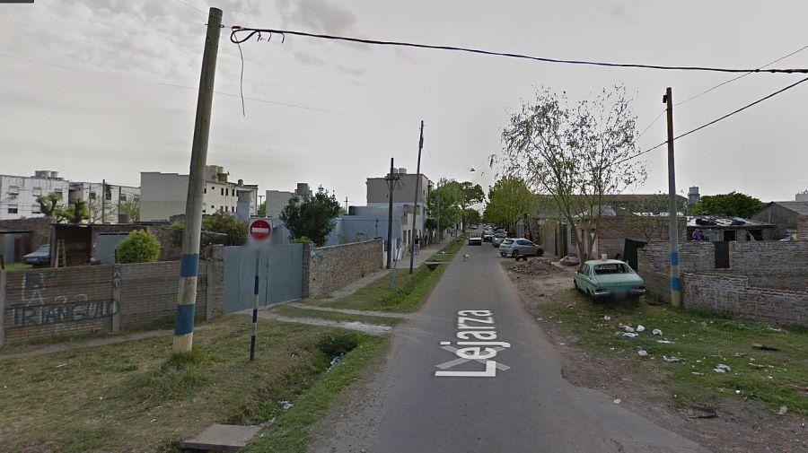 Pasaje Lejarza al 5.600, del barrio El Triángulo, ubicado en la zona sudoeste de Rosario.