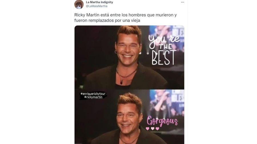 Ricky Martin retoque facial