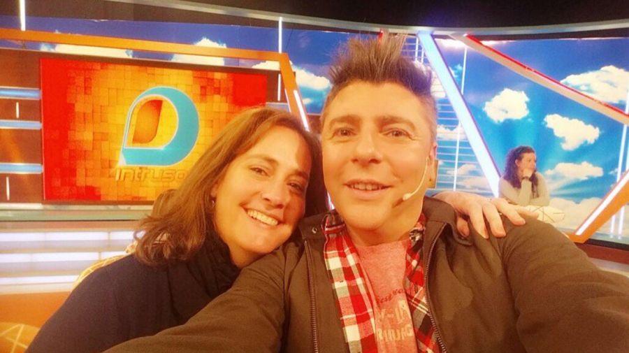 Ana Guevara y Daniel Ambrosino
