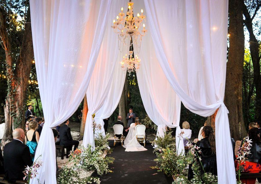 La boda soñada de Abel Pintos y Mora Calabrese