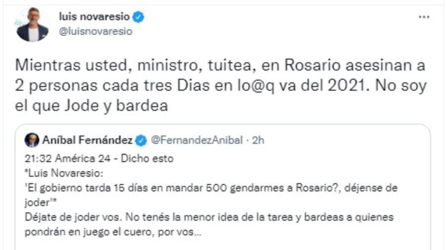 Luis Novaresio Aníbal Fernández g_20211001