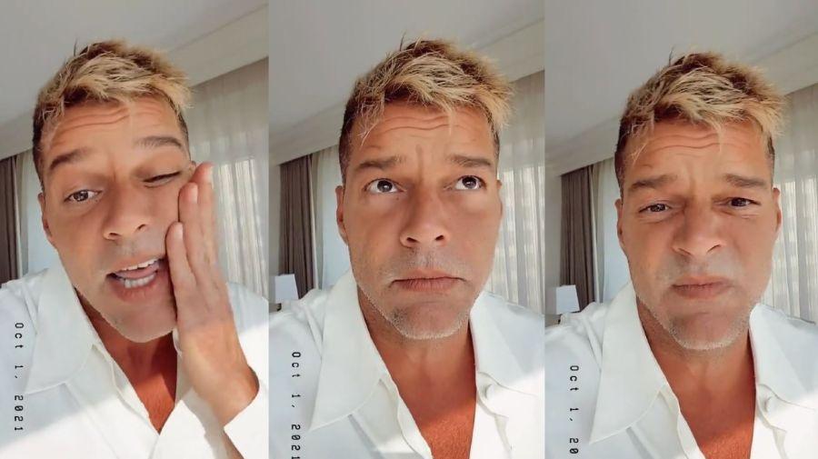 Ricky Martin cara