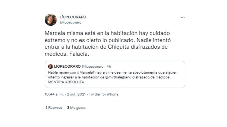 tweet pecoraro