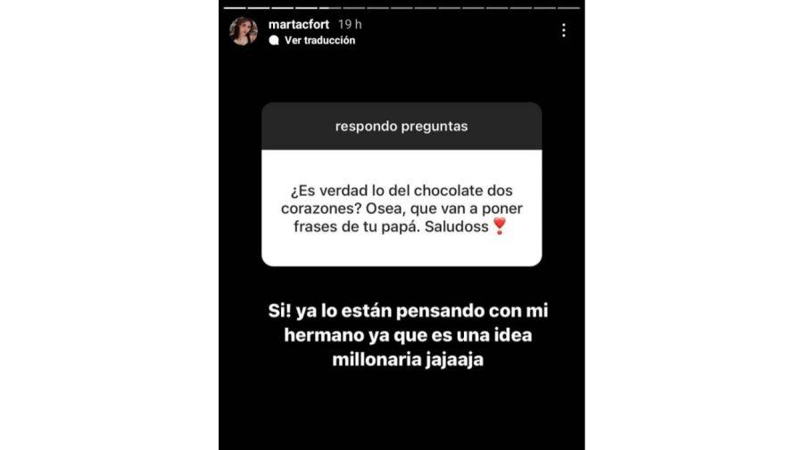 Marta Fort- Instagram
