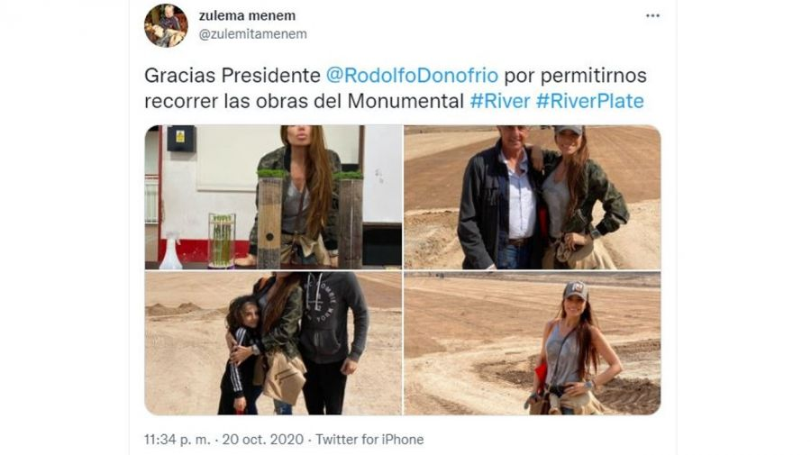 Zulemita Menem y Rodolfo D'Onofrio (2)