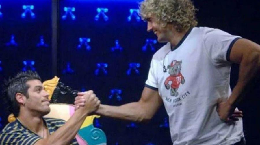 Cristian U y Emiliano Boscatto en Gran Hermano 2011