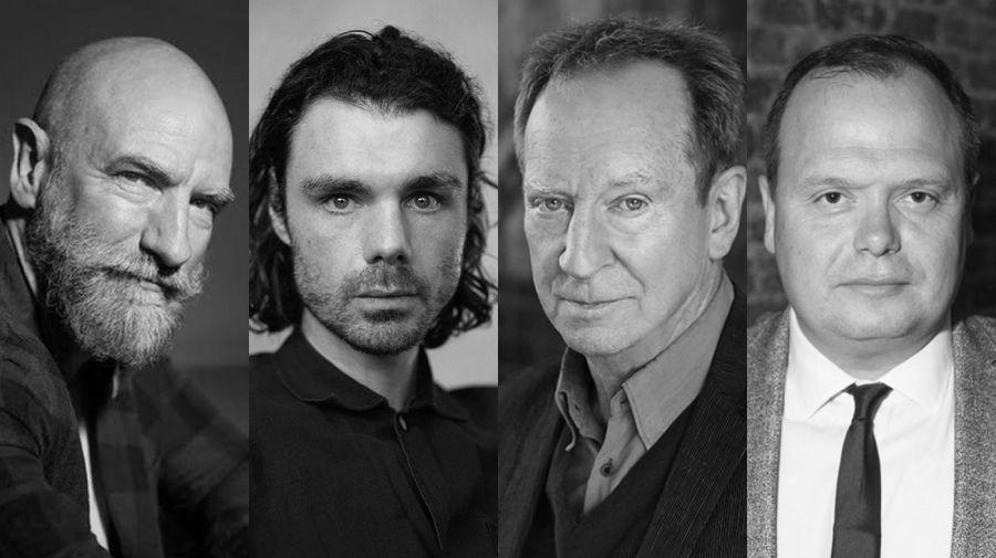 Graham McTavish, Matthew Needham, Bill Paterson, y Gavin Spokes