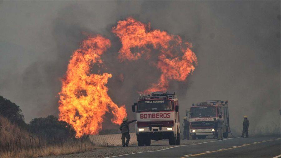 Incendios en Argentina   Crédito: Greenpeace.