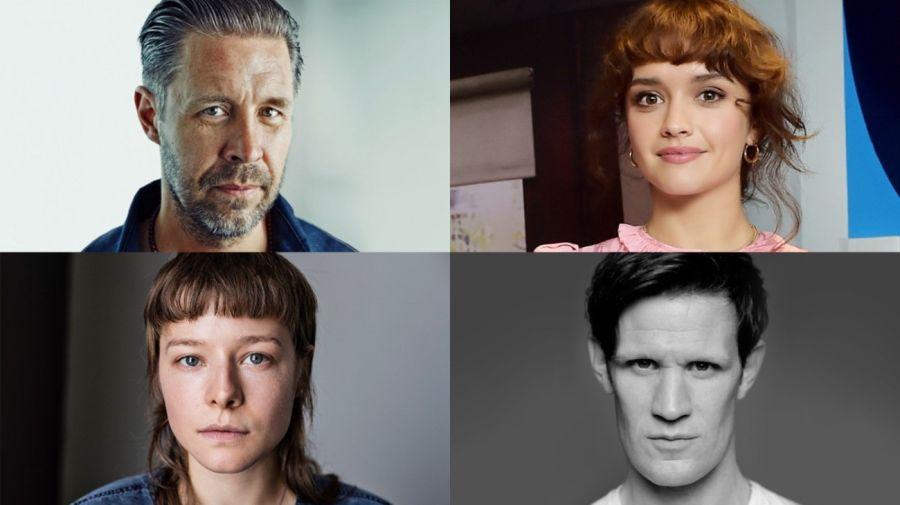 Paddy Considine, Olivia Cooke, Emma D'Arcy y Matt Smith