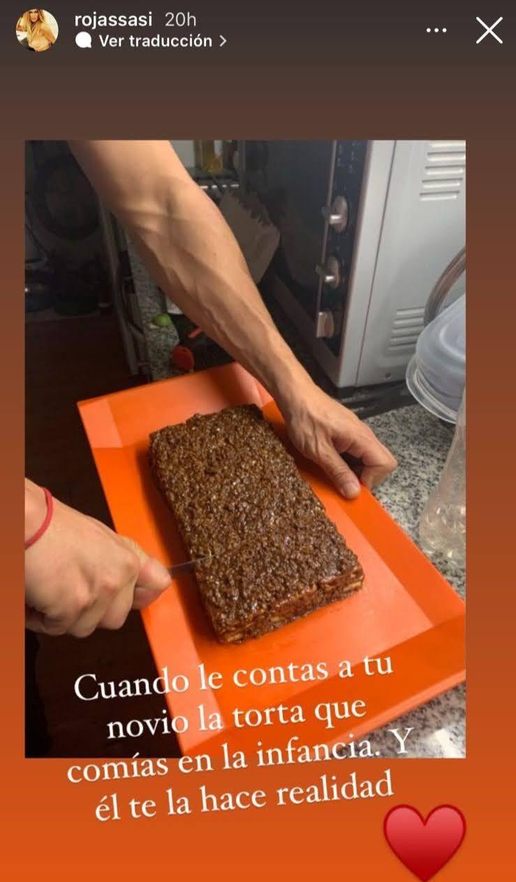 El especial gesto del Tucu López con Sabrina Rojas: