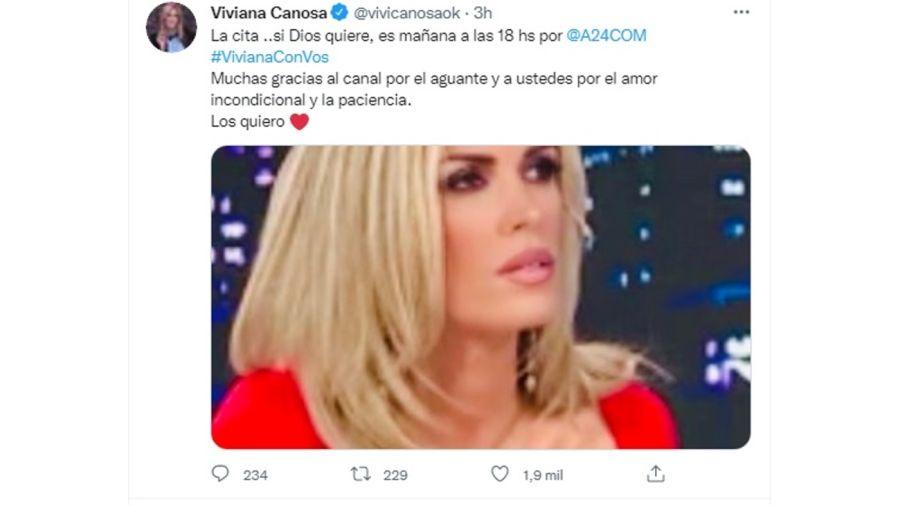 tuits Viviana Canosa