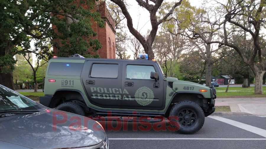 Hummer H2 Policía Federal