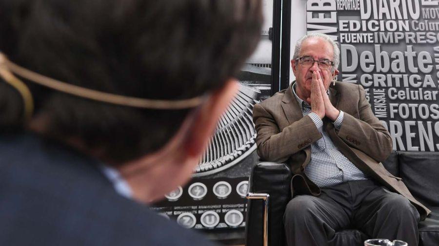 Juan Carlos Torre, en la entrevista con Jorge Fontevecchia.