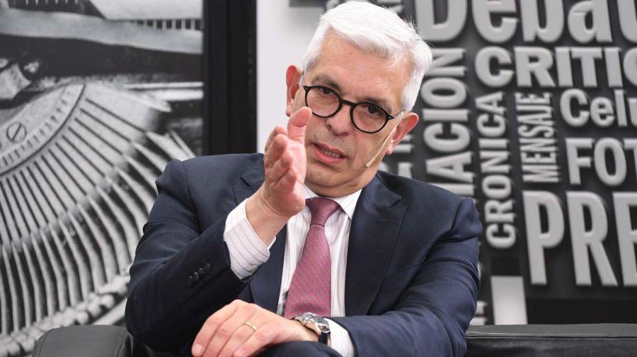 Julián Domínguez, en la entrevista con Jorge Fontevecchia.