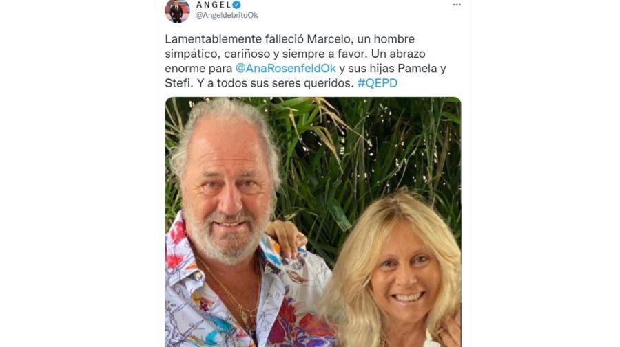Muerte marido de Ana Rosenfeld Marcelo Frydlewsk
