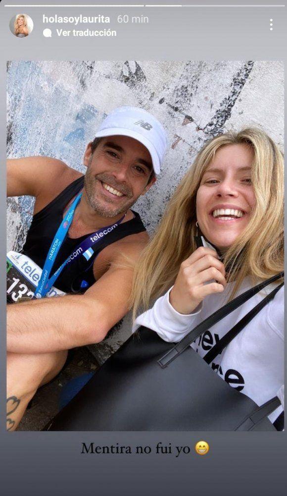 Laurita Fernández publicó su primera foto junto a Nicolás Cabré tras su reconciliación
