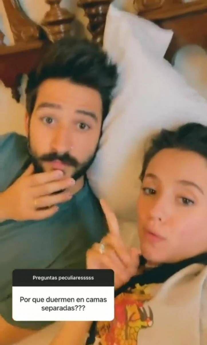 Evaluna Montaner y Camilo contaron por qué duermen separadas de vez en cuando