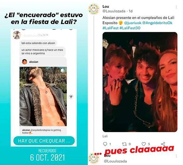 Quién es Alosian Vivancos, el misterioso invitado al cumpleaños de Lali Espósito