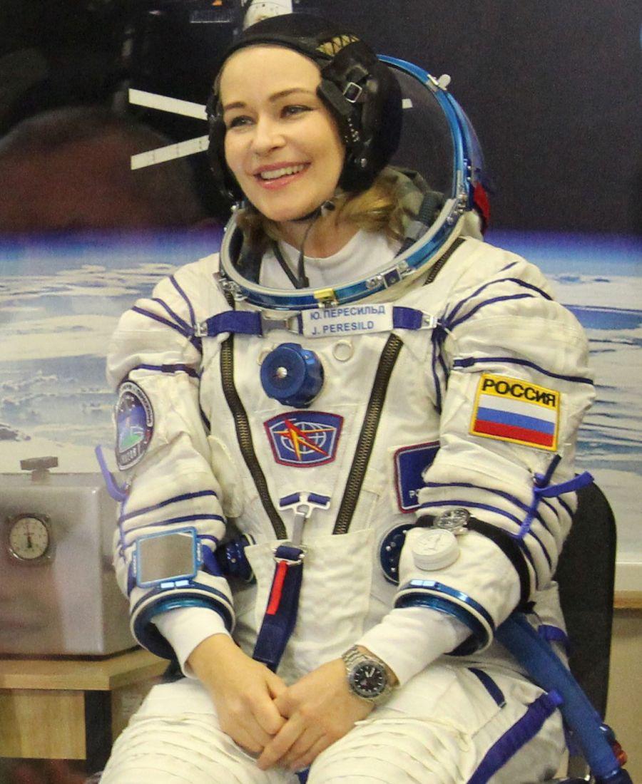 La estrella del espacio: Una actriz rusa ya filma la primera película espacial