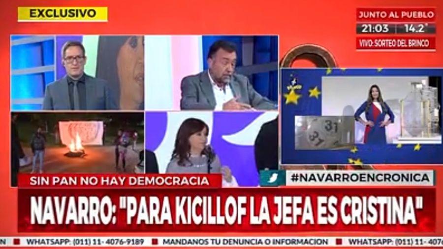 Roberto Navarro en Cronica