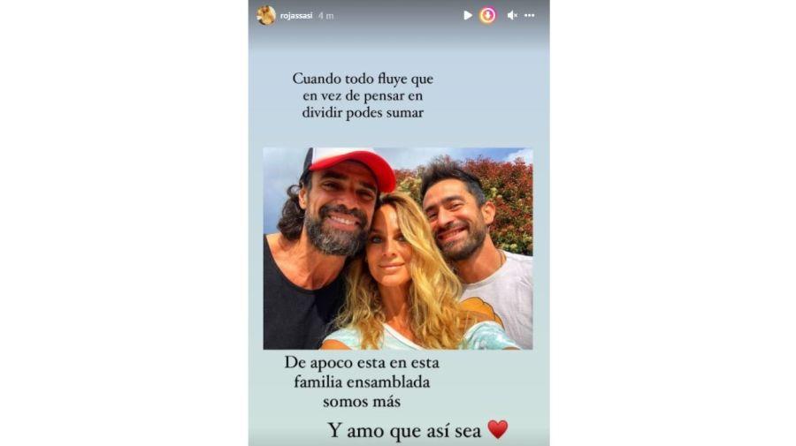 Luciano Castro, Sabrina Rojas y el Tucu Lopez