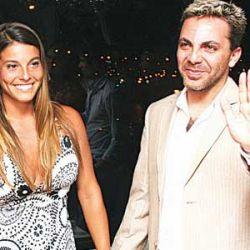 Cristian Castro con Bibiana Panozzo