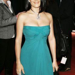 """La actriz Salma Hayek en la gala de la fundación """"Ein Herz für Kinder"""""""