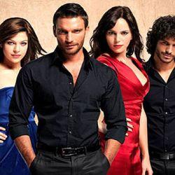 Los actores de la versión española de Valientes