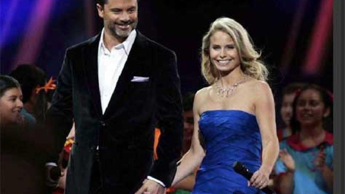 Felipe Camiroaga y Soledad Onetto