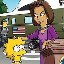 Lisa Simpson - Michelle Obama