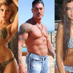 Virginia Gallardo, Ricardo Fort, Niña Loly