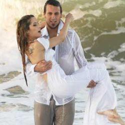 Vanucci y Fabianni en plena luna de miel
